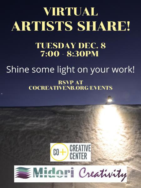 Poster for December artist's share