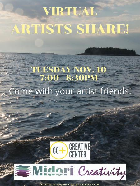 Poster for November Artist's share